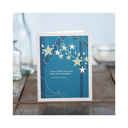 Birthday Greeting Card - Dance Till The Stars...