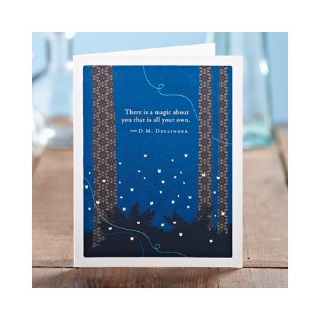 Appreciation Greeting Card - There Is A Magic...