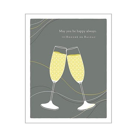 Wedding Greeting Card - May You Be Happy....