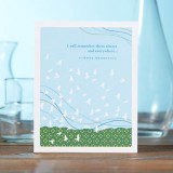 Support & Sympathy Greeting Card - I Will Remember Them...
