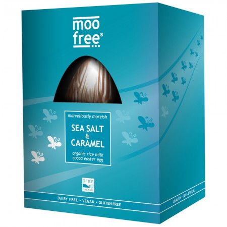 Moofree Sea Salt & Caramel Egg 160g
