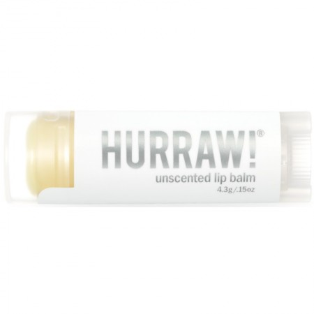 Hurraw! Vegan Lip Balm - Unscented