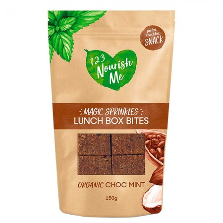 123 Nourish Me Lunch Box Bites Choc Mint