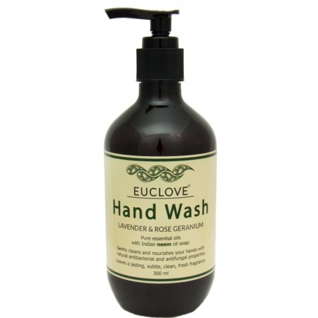 Euclove Hand Wash Lavender & Rose Geranium 300ml