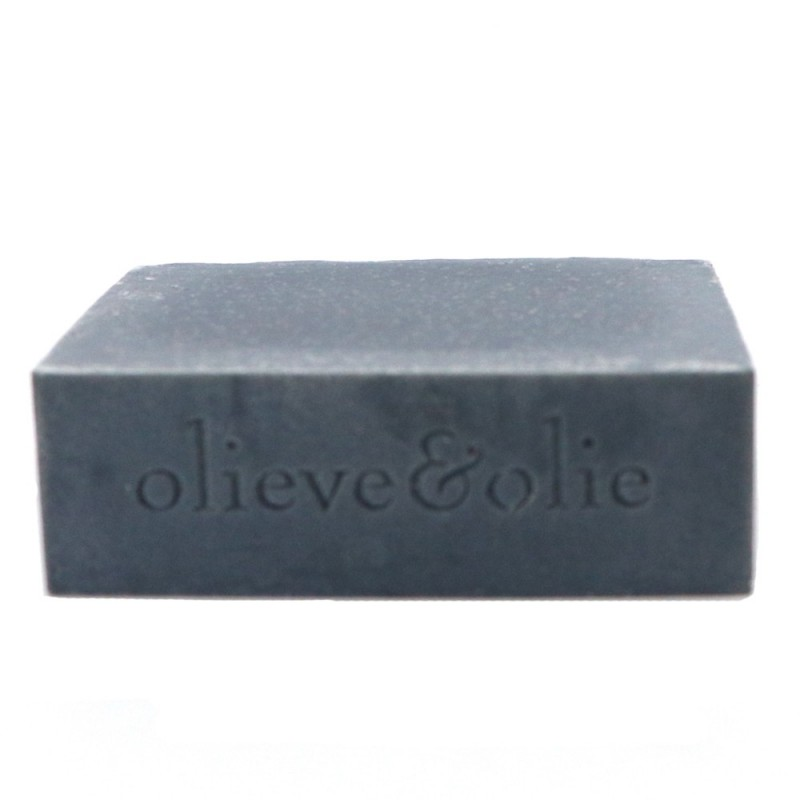 Olieve Soap Bar 80g - Bergamot, Clary Sage & Charcoal (unpackaged)