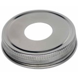Mason Jar Soap Pump Adapter Lid - Wide Mouth