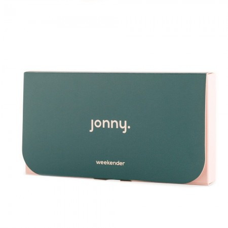 Jonny Vegan Latex Condoms 6pk - Weekender