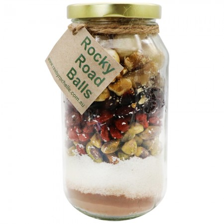 RAW Bliss Ball Mix in Jar - Rocky Road