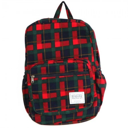 Beekeeper Parade Royal Backpack Tartan Green
