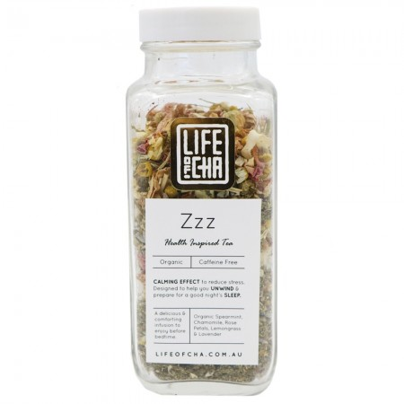 Life of Cha Organic Loose Leaf Tea - Zzz