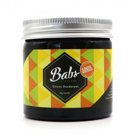 Babs Bodycare Natural Deodorant - Citrus