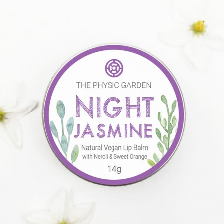 The Physic Garden Lip Balm 14g - Night Jasmine
