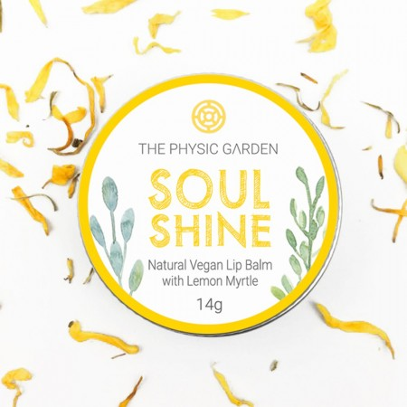 The Physic Garden Lip Balm 14g - Soul Shine