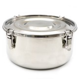 Stainless Steel Airtight Round Container - 1.5L