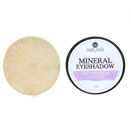 MG Naturals Mineral Eye Shadow - Almond Milk