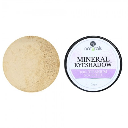 MG Naturals Mineral Eye Shadow - Creme Brulee
