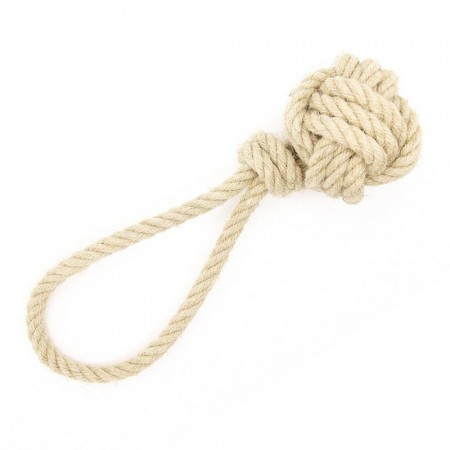 Betty Woof Medium Hemp Rope Dog Toy - Monkey Fist