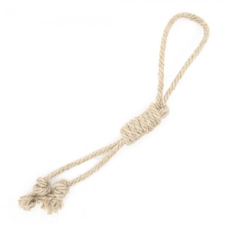 Betty Woof Large Hemp Rope Dog Toy - Gallows