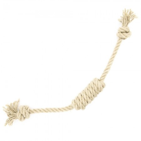 Betty Woof Large Hemp Rope Dog Toy - Screwdriver