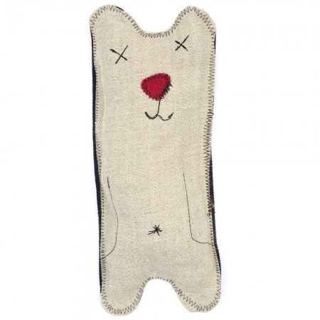 Betty Woof Plush Hemp Dog Toy - Big Bear