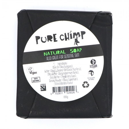 Pure Chimp Natural Soap Bar 100g