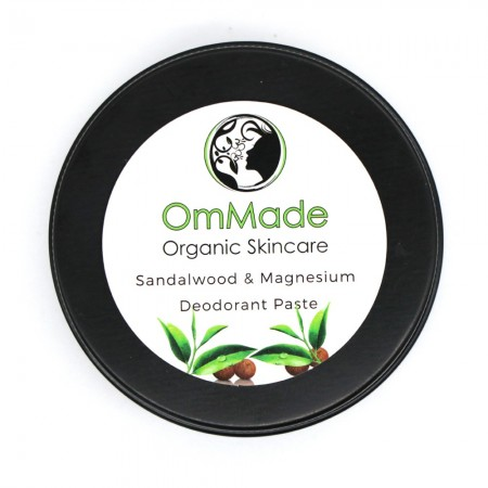 OmMade Sandalwood & Magnesium Deodorant Paste 60ml