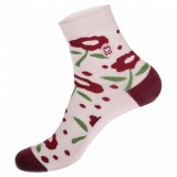 Conscious Step Socks That Promote Breast Cancer Prevention II (Flower) - Women's