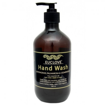 Euclove Hand Wash Lemongrass Palmarosa 500ml