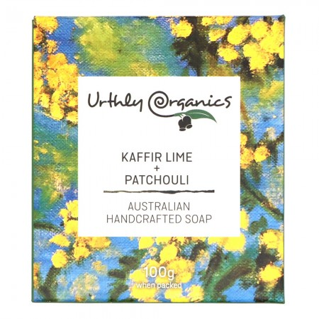 Urthly Organics Soap Bar - Kaffir Lime & Patchouli
