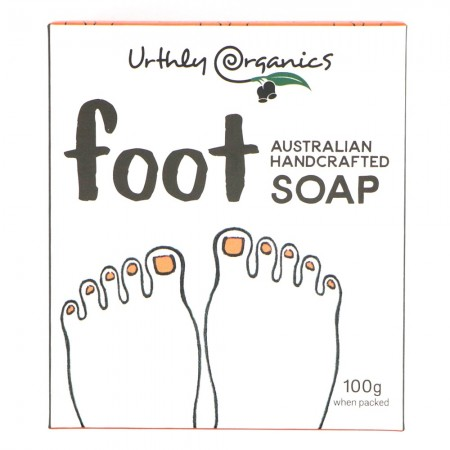 Urthly Organics Soap Bar - Foot Soap