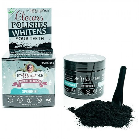 My Magic Mud Whitening Tooth Powder - Spearmint LAST CHANCE!