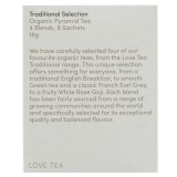 Love Tea Organic Tea Bags 18g - Sample Selection (8)