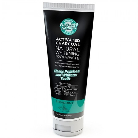 Essenzza Activated Charcoal Whitening Toothpaste Spearmint 113g