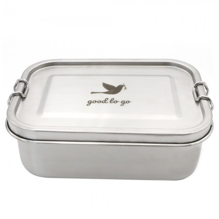 Good To Go Leak Proof Stainless Steel Reusable Takeaway Container 700ml