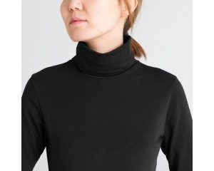 Dorsu Long Sleeve Turtleneck - Black