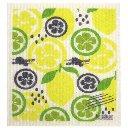 Swedish Dish Sponge Cloth - Lemon & Lime