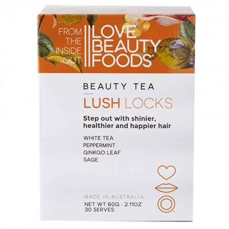 Love Beauty Foods Beauty Tea 60g - Lush Locks