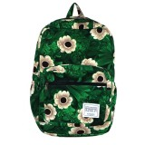 Beekeeper Parade Royal Backpack Green Summer Flower
