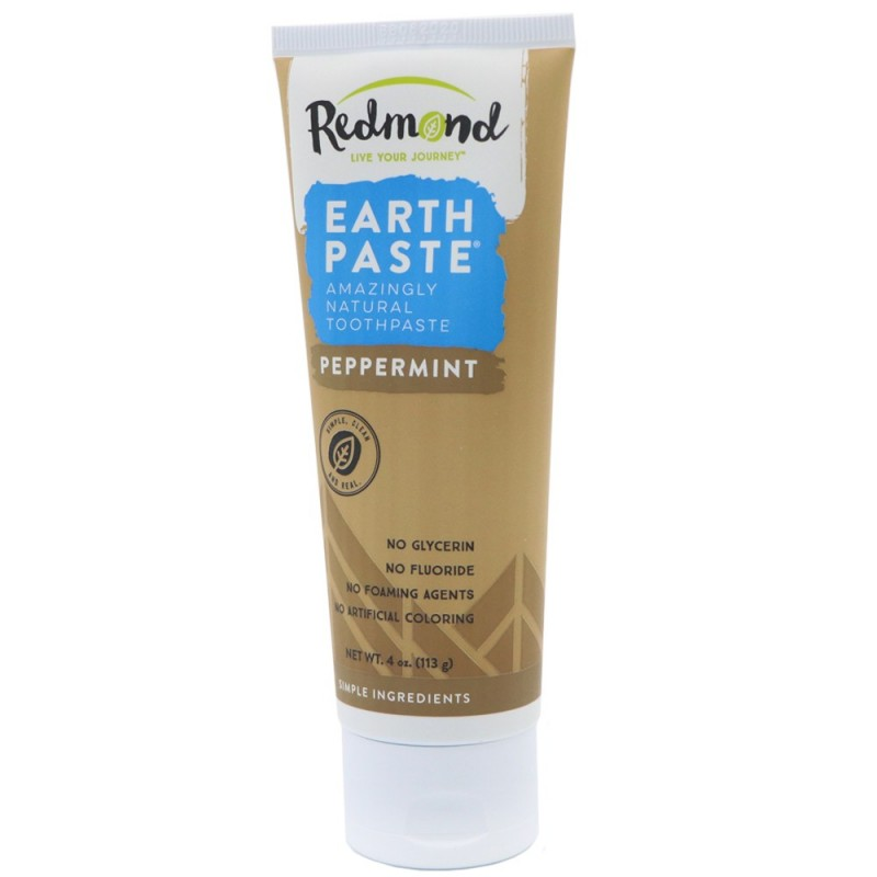 Redmond's Earthpaste Natural Toothpaste - Peppermint