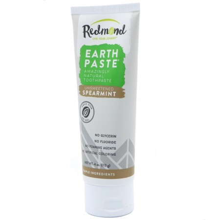 Redmond's Earthpaste Natural Toothpaste - Unsweetened Spearmint