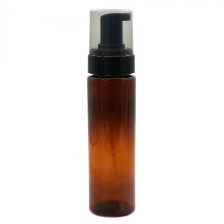 Amber PET Foaming Pump Bottle - 200ml