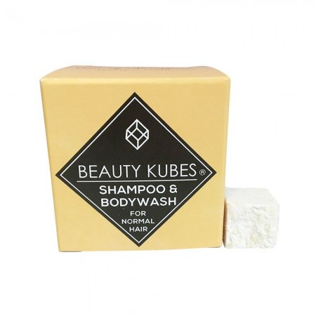 BB DATE 02/21 Beauty Kubes Shampoo & Body Wash Normal Hair
