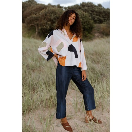 Cor Clothes Tallows Cropped Trouser Waves