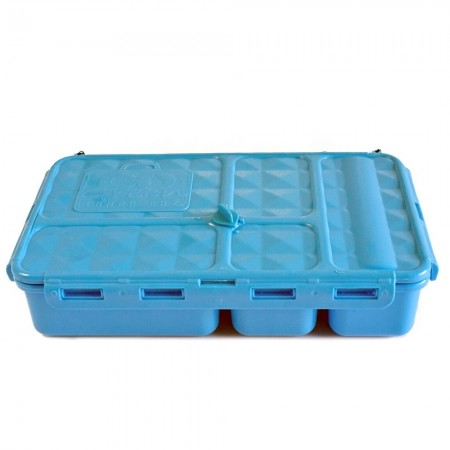 Go Green Original 5 Compartment Lunch Box - Blue