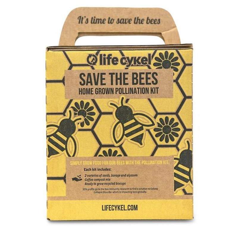 Life Cykel Save the Bees Pollination Kit