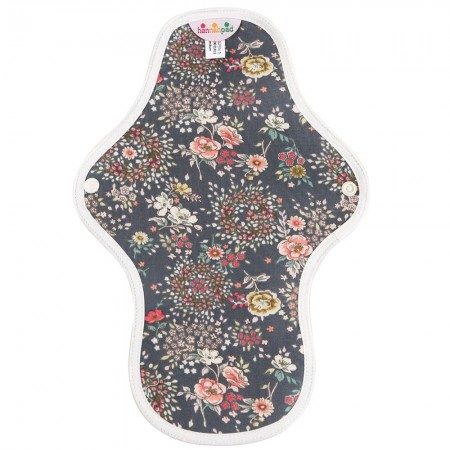 Hannahpad Medium Cloth Pad - Antique Indigo with Grip