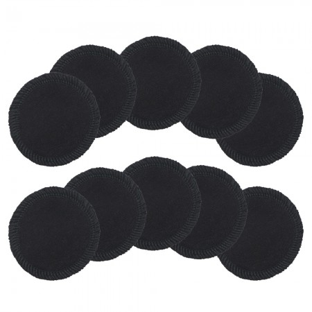 Biome Reusable Hemp Facial Rounds 10pk - Black