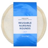 Biome Reusable Nursing Rounds 2pk - Light