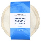 Biome Reusable Nursing Rounds 2pk - Medium
