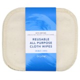 Biome Reusable All Purpose Cloth Wipes 5pk